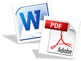 pdf and word